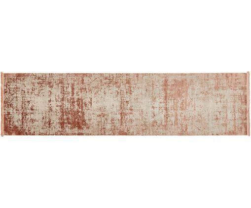 Dywan z frędzlami Cordoba, Terakota, beżowy, S 80 x D 300 cm