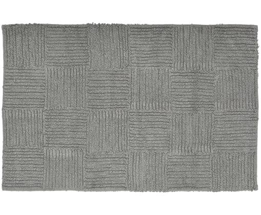 Badvorleger Sienna, Baumwolle, Grau, 60 x 90 cm