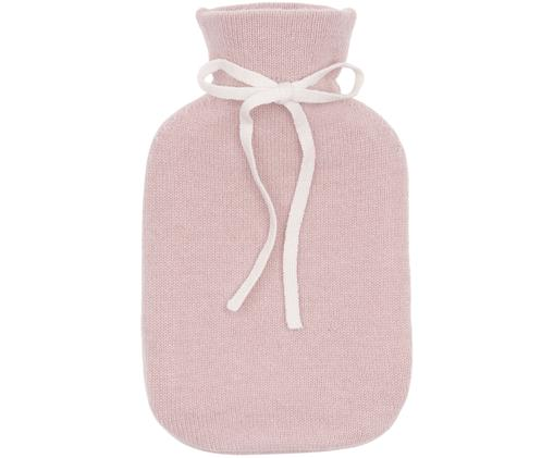 Kaschmir-Wärmflasche Florentina, Bezug: RosaZierschleife: CremeweißWärmflasche: Cremeweiß
