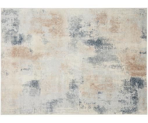 Alfombra de diseño Rustic Textures II, Parte superior: 51%polipropileno, 49%po, Reverso: 50%yute, 50%látex, Tonos beige, gris, An 160 x L 220 cm (Tamaño M)