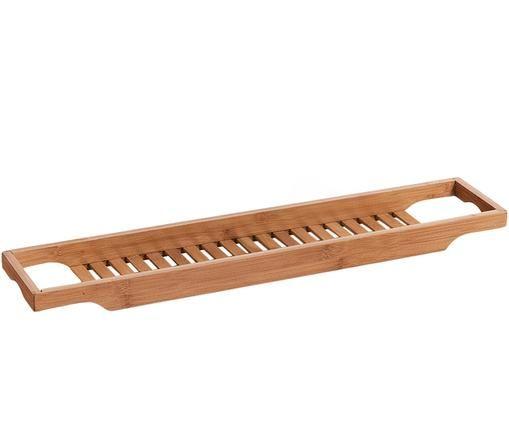 Badewannenablage Bambel aus Bambus, Bambus, Braun, 70 x 5 cm