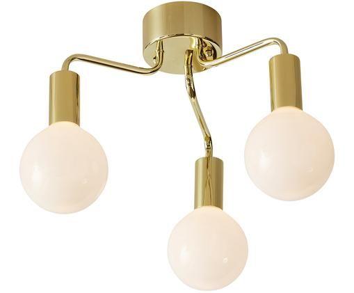 Plafondlamp History, Messingkleurig