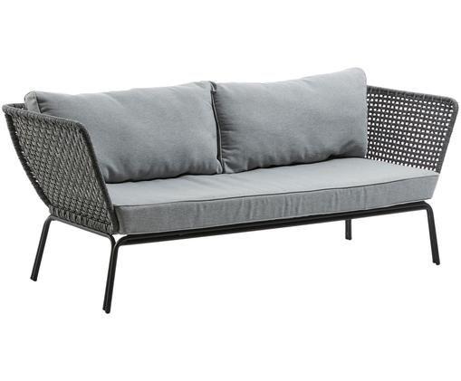 Sofa Nala (3-Sitzer), Schwarz, Grau