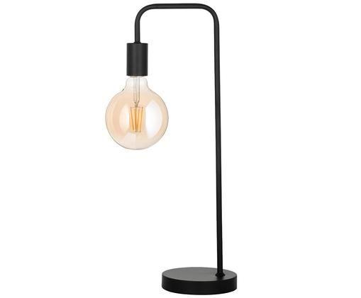 Lampada da tavolo Flow, Nero, nero