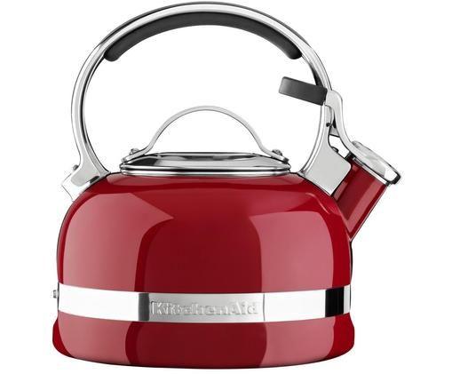 Bollitore KitchenAid Classic, Rosso, lucido