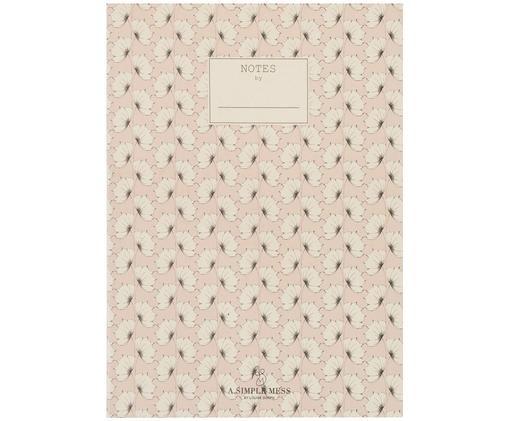 Notizbuch Tren, Recyclingpapier, Rosa, 18 x 25 cm