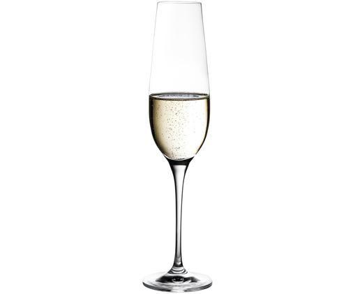 Copas de champán de cristal Harmony, 6uds.