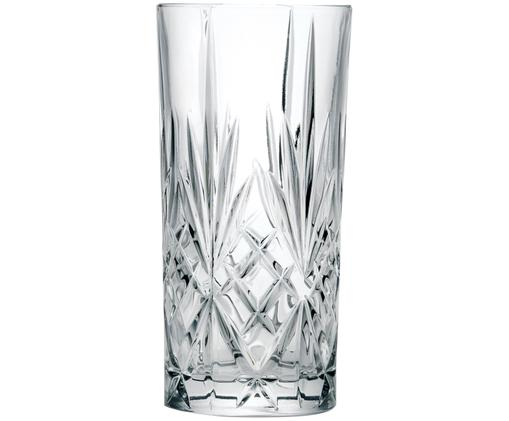 Kryształowa szklanka do koktajli Melodia, 6 szt.