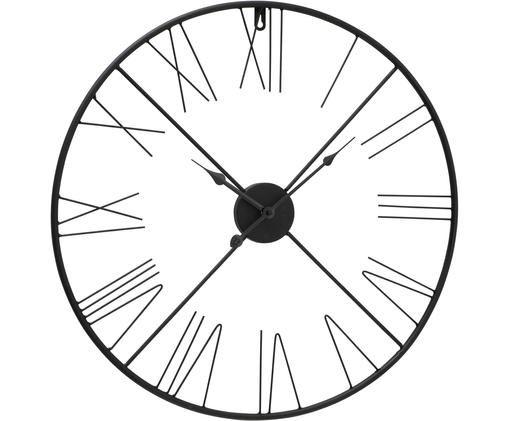 Horloge murale Oslo, Noir