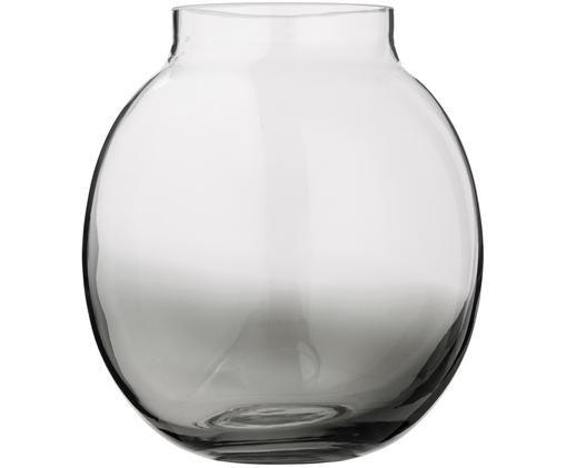 Vaas Millau, Glas, Grijs, Ø 20 x H 18 cm