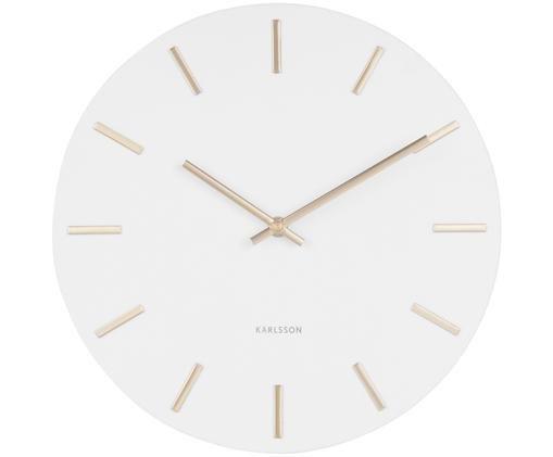 Horloge murale Charm, Blanc