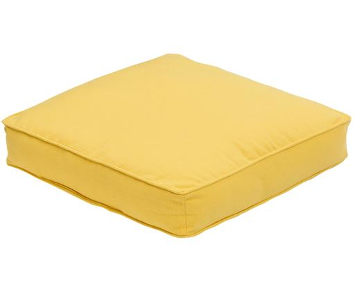 Sitzkissen Zoe, Hülle: 100% Baumwolle, Gelb, 40 x 40 cm
