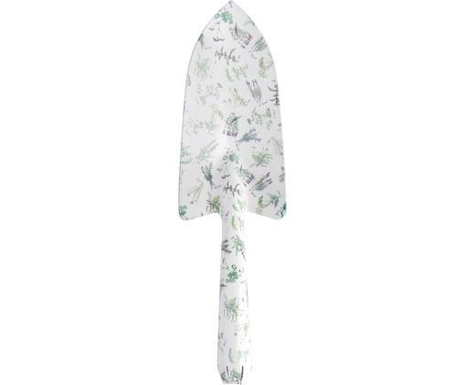 Kielnia do kwiatów Herbs, Stal, Biały, zielony, S 8 x W 28 cm