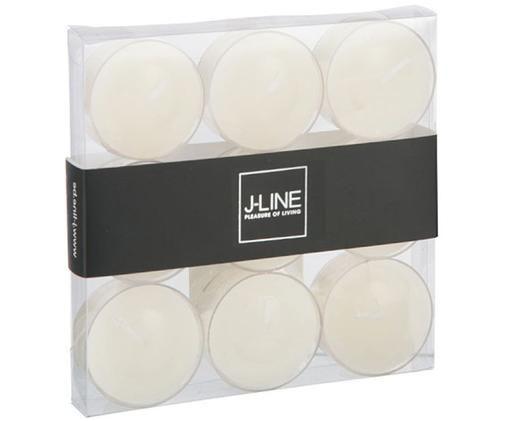 Bougies diamètre chauffe-plat Pova, 9 pièces, Blanc