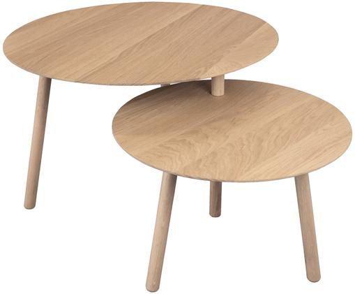 Tavolino Drade, Legno di quercia