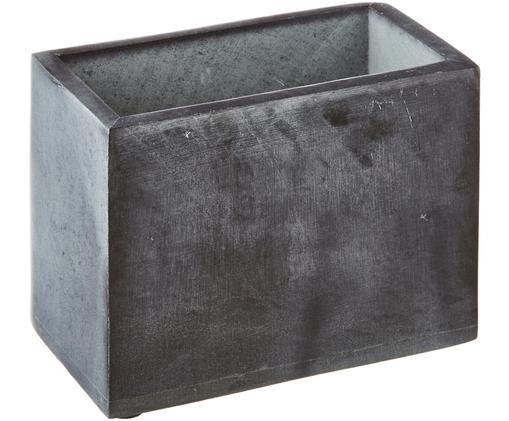 Zahnputzbecher Spece aus Stein, Schwarz
