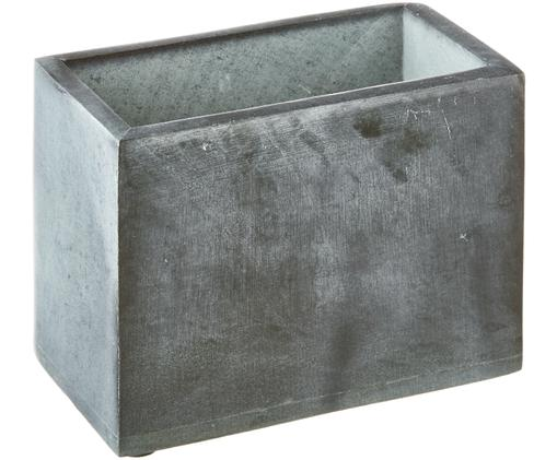 Tandenborstelbeker Spece, Steen, Zwart, 9 x 7 cm
