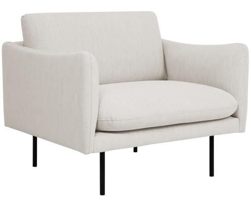 Fauteuil Moby, Beige