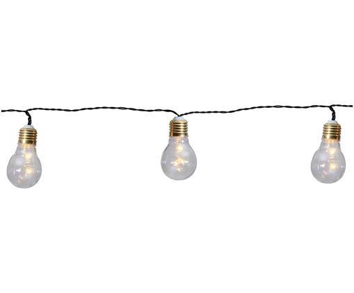 Kurze LED Lichterkette Bulb, 100 cm