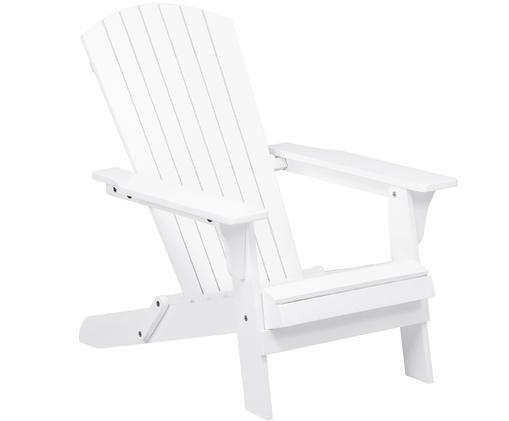 Fotel ogrodowy Charlie, Biały