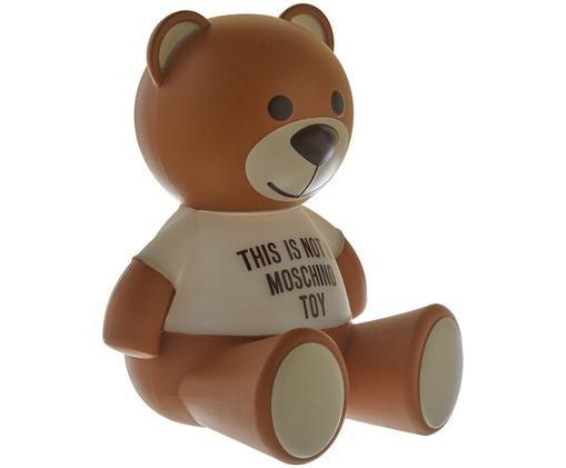 Lampe à poser à LED Toy Moschino, Brun, noir