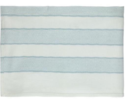 Tafelkleed Tizia, Katoen, Blauw, 170 x 250 cm