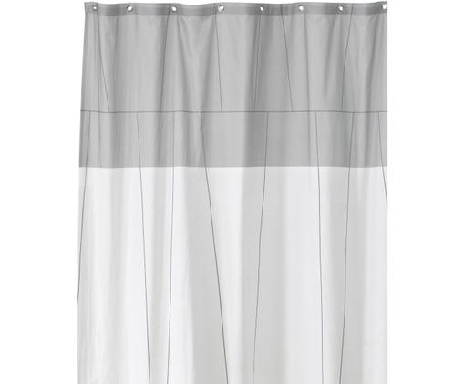 Rideau de douche Verdi, Tons gris, blanc