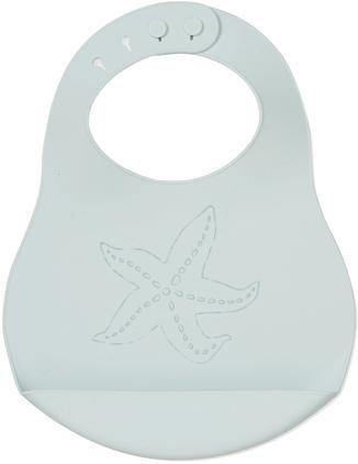 Silikon-Lätzchen Starfish