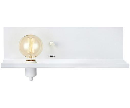 Kinkiet Multi, Mosiądz lakierowany, Biały, S 50 x W 14 cm