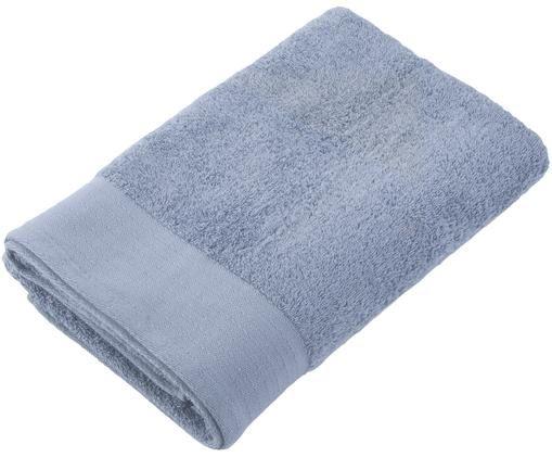 Telo bagno Soft Cotton, Cotone, qualità media, 550g/m², Blu, Larg. 70 x Lung. 140 cm