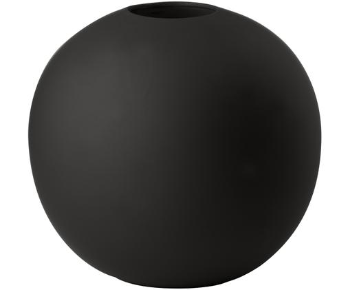 Vaso Ball, Ceramica, Nero, Ø 20 x Alt. 20 cm