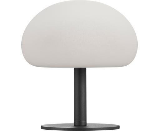 Zewnętrzna lampa stołowa z funkcją przyciemniania Sponge, Tworzywo sztuczne (PVC), Biały, czarny, Ø 20 x W 22 cm