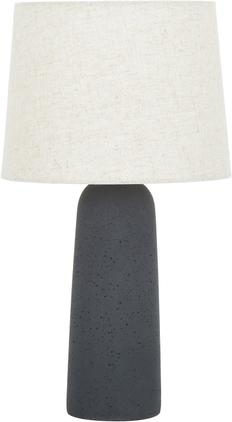 Große Tischlampe Kaya mit Betonfuß