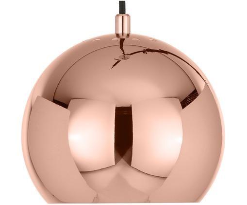 Lampa wisząca Ball, Metal powlekany, Odcienie miedzi, Ø 18 x W 16 cm