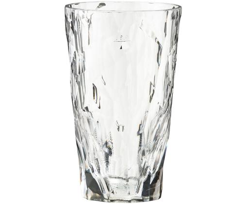 Bicchieri tipo long drink in materiale sintetico infrangibile Club, Trasparente