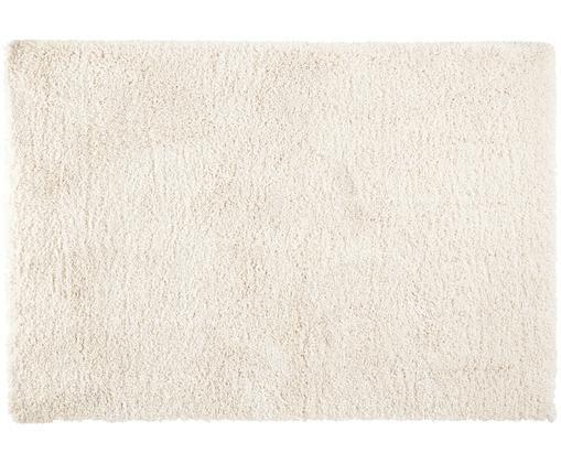 Flauschiger Hochflor-Teppich Venice, Flor: Polypropylen, Creme, B 80 x L 150 cm (Größe XS)