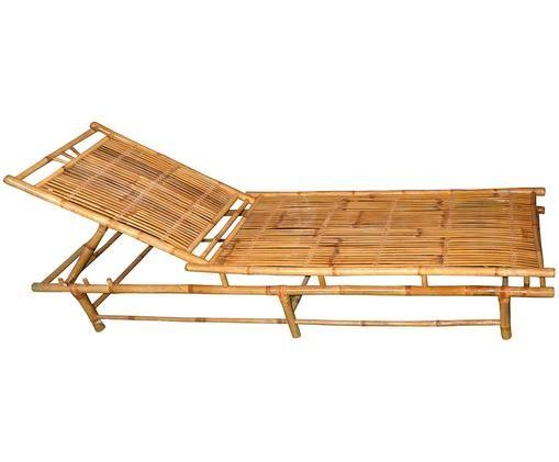 Bain de soleil en bambou Bammina, Beige