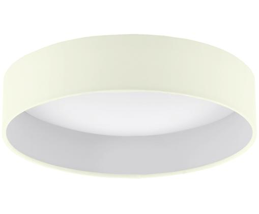 LED plafondlamp Paloma, Crèmekleurig, Ø 32 x H 9 cm