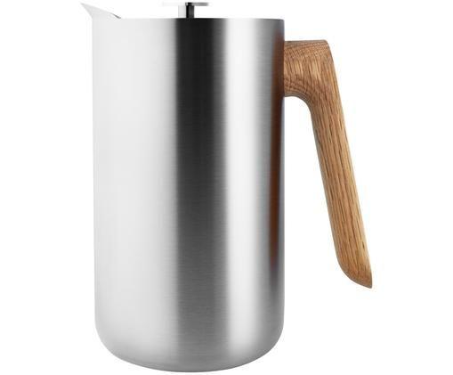 Zaparzacz do kawy Quercia, Stal nierdzewna, drewno dębowe