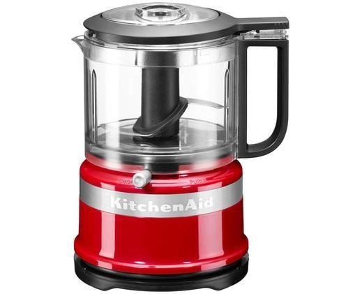 Mixer-Mini food processor KitchenAid Mini, Rosso, lucido