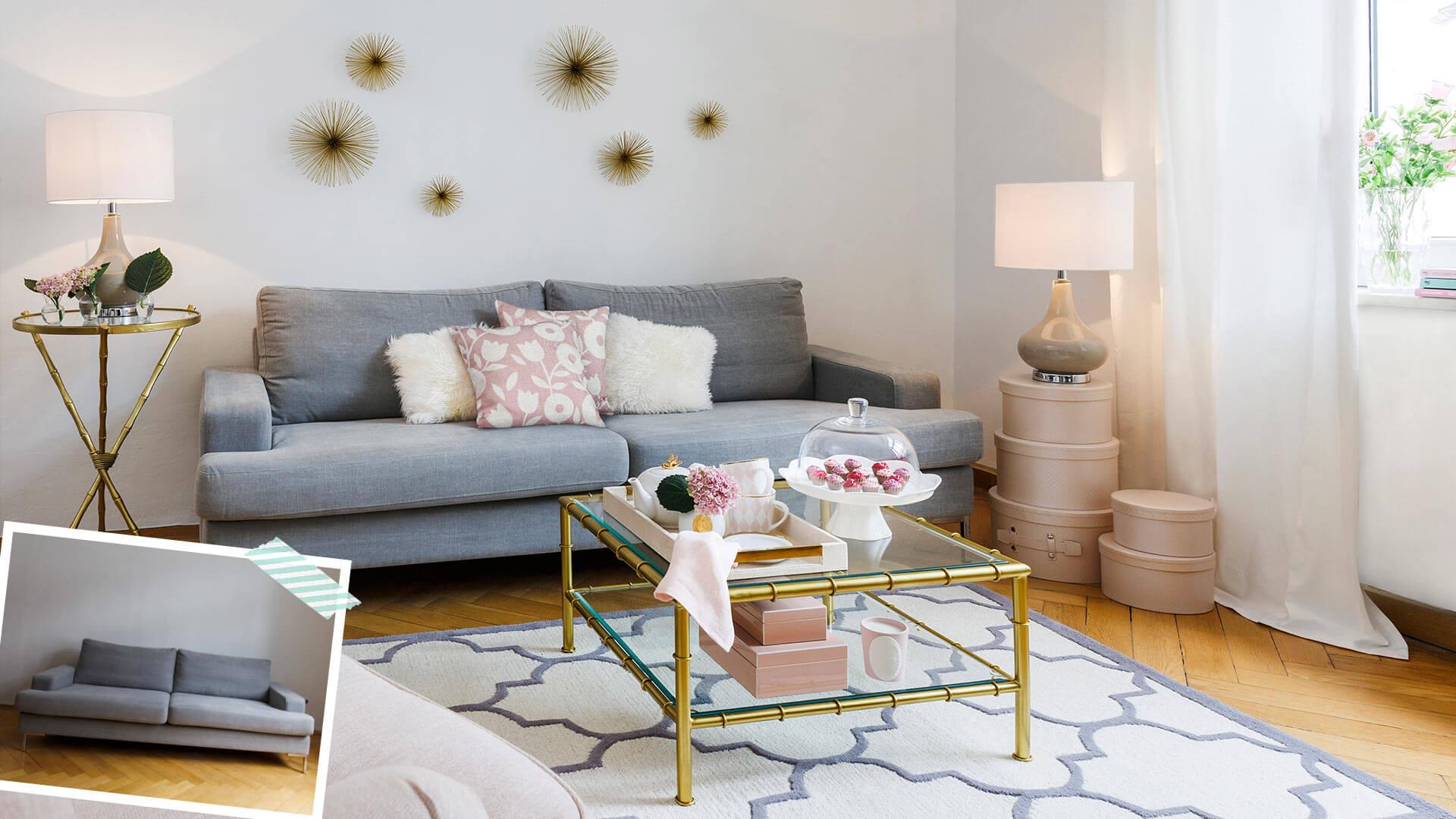 Sofa-Style: Girly