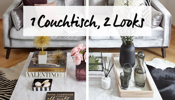 Andere Produkte aus dem Look »1 Couchtisch, 2 Looks«