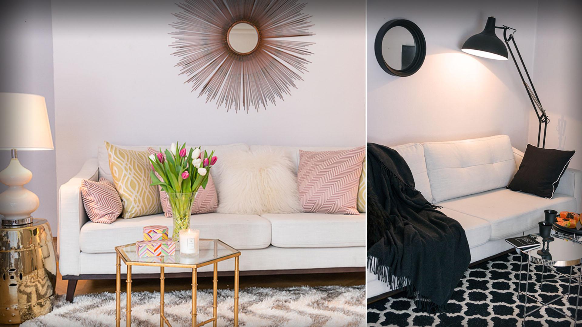 1 Sofa, 2 Looks