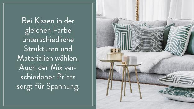 Sofa-Styling: Boho