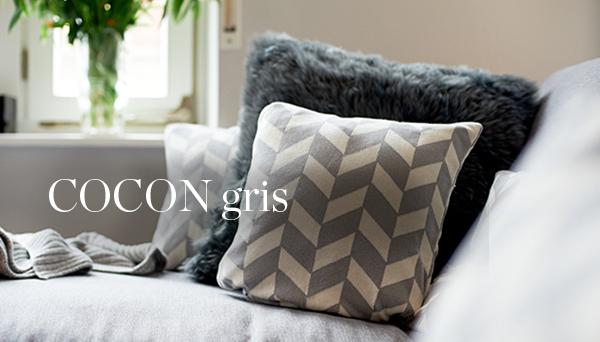 Autres articles du look »Cocon gris«