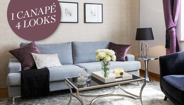 Autres articles du look »Sofa-Style: Glam«