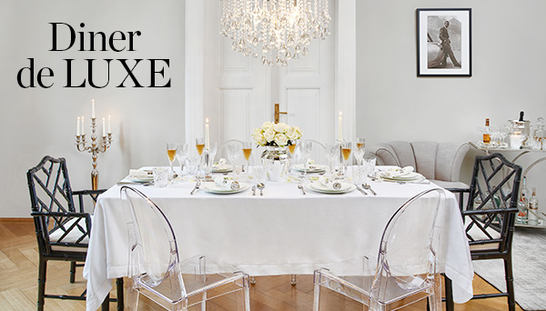 Autres articles du look »Diner de luxe«
