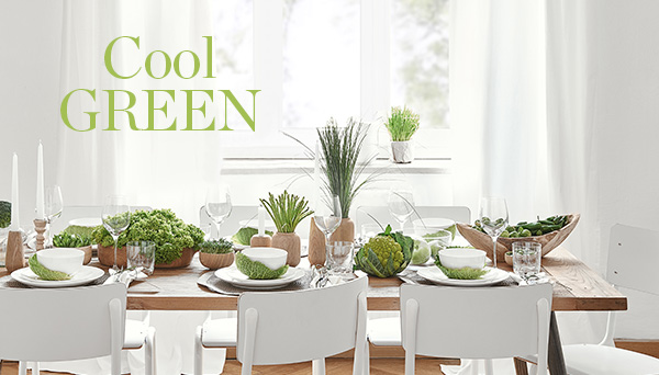 Meer producten uit de look »Cool green«