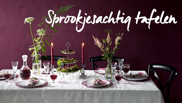 Meer producten uit de look »Sprookjesachtig tafelen«