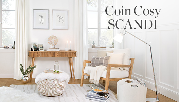 Autres articles du look »Coin Cosy Scandi«